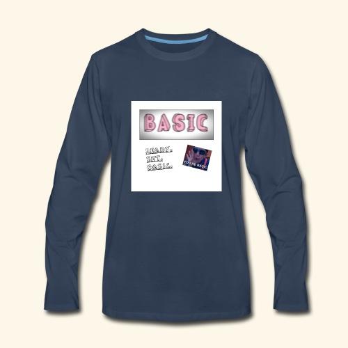 First Basic Merch - Men's Premium Long Sleeve T-Shirt