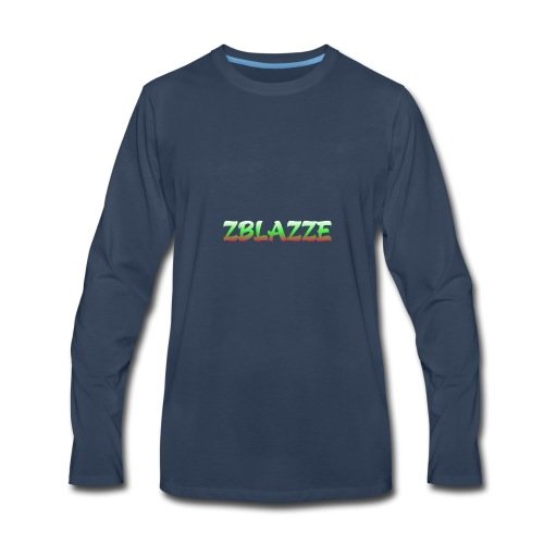 zBlazze New Merch - Men's Premium Long Sleeve T-Shirt