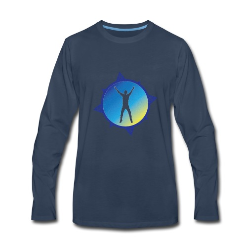 Compass Guy - Men's Premium Long Sleeve T-Shirt