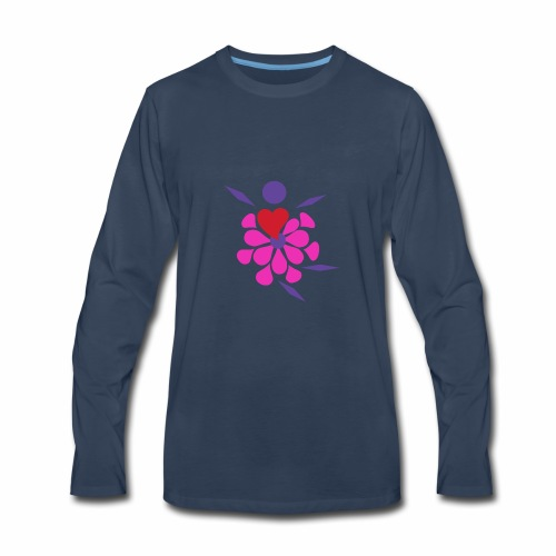 Flower Damcer - Men's Premium Long Sleeve T-Shirt