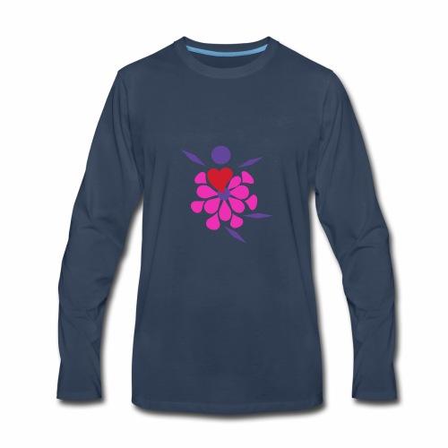 Flower Damcer - Men's Premium Long Sleeve T-Shirt