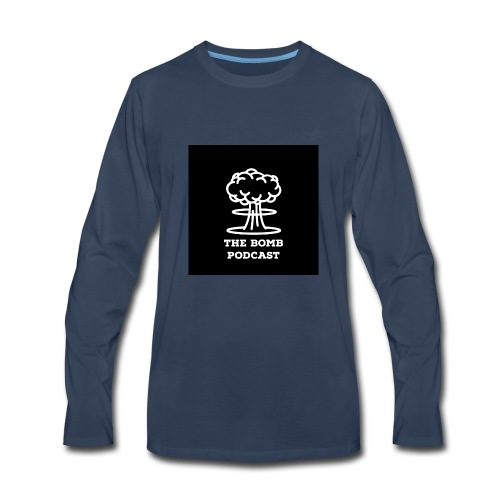 The Bomb Podcast official gear - Men's Premium Long Sleeve T-Shirt