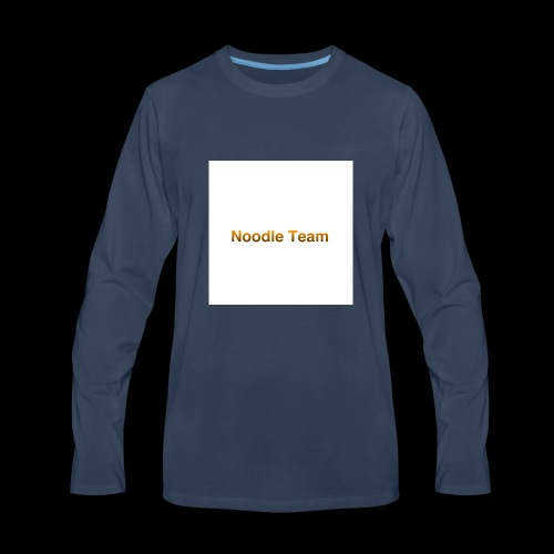 NOODLE TEAM - Men's Premium Long Sleeve T-Shirt