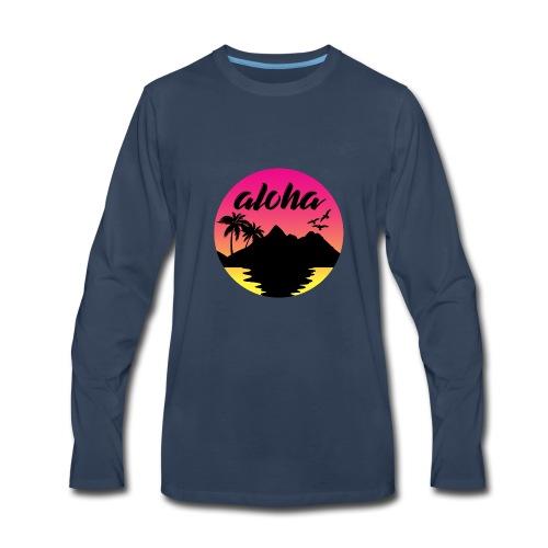 aloha - Men's Premium Long Sleeve T-Shirt