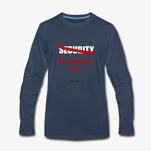 Imitation Pork/Security - Men's Premium Long Sleeve T-Shirt