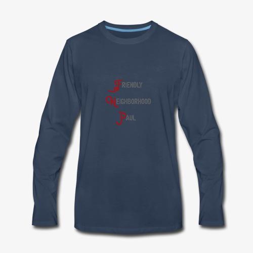 Friendly Neighborhood Paul - Men's Premium Long Sleeve T-Shirt