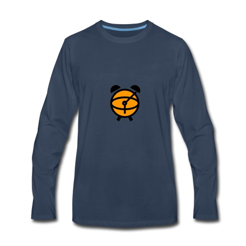 CrunchTime NBA iPhone Case - Men's Premium Long Sleeve T-Shirt