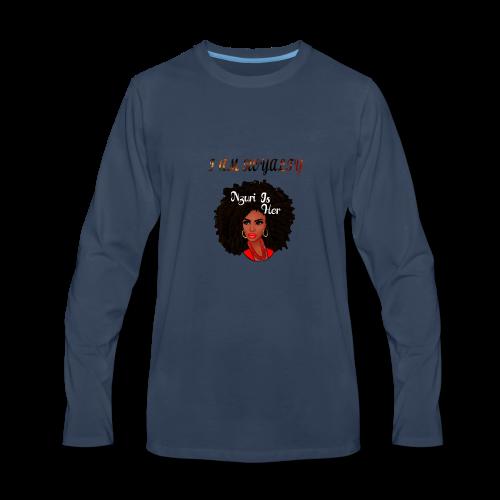 i am royalty design - Men's Premium Long Sleeve T-Shirt
