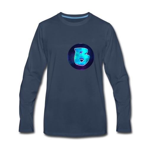 Circles Ben logo. - Men's Premium Long Sleeve T-Shirt
