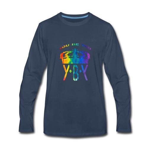 YouBeYou top bend color - Men's Premium Long Sleeve T-Shirt