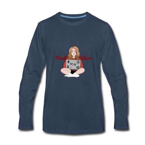 Design 3 - Men's Premium Long Sleeve T-Shirt