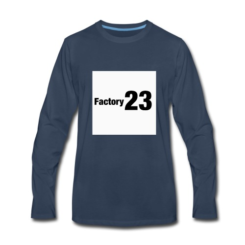 Factory 23 - Men's Premium Long Sleeve T-Shirt