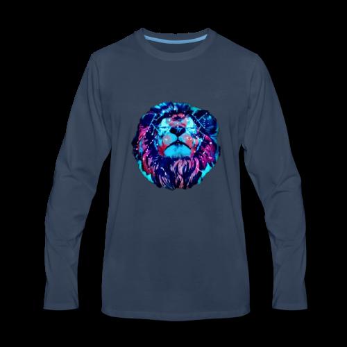 Galaxy Lion - Men's Premium Long Sleeve T-Shirt