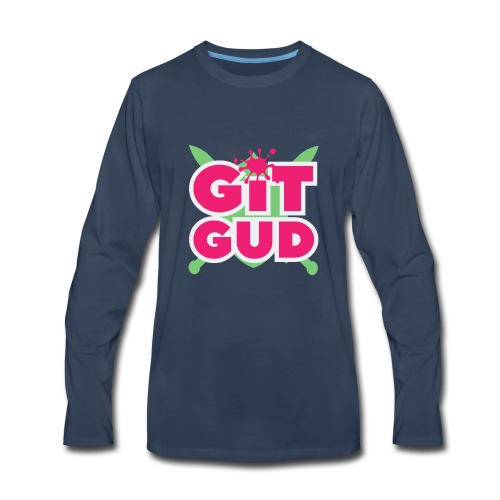 Git Gud by Memodeth - Men's Premium Long Sleeve T-Shirt