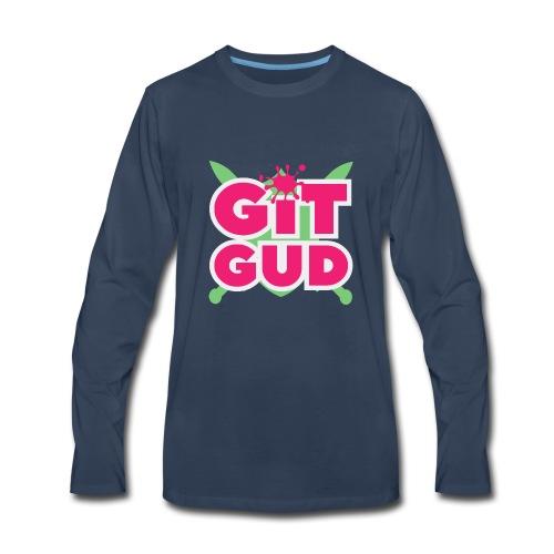 Git Gud by Memodeth - Men's Premium Long Sleeve T-Shirt