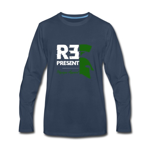 repstate - Men's Premium Long Sleeve T-Shirt