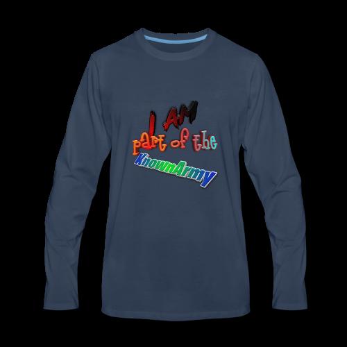 KnownArmy Member - Men's Premium Long Sleeve T-Shirt