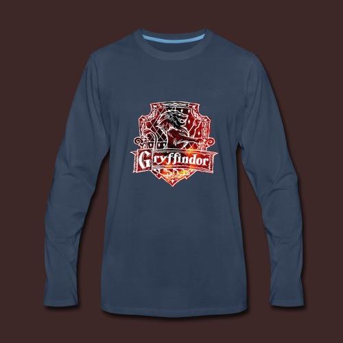 Gryffindor -Galaxy- - Men's Premium Long Sleeve T-Shirt