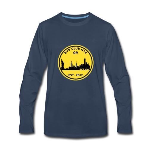 Borussia Dortmund NYC - US Tour 2018 - Men's Premium Long Sleeve T-Shirt