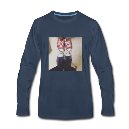 Sneakers - Men's Premium Long Sleeve T-Shirt