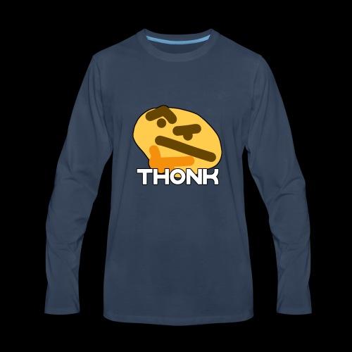 thonkerboi - Men's Premium Long Sleeve T-Shirt