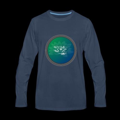 Vintage Frog - Men's Premium Long Sleeve T-Shirt