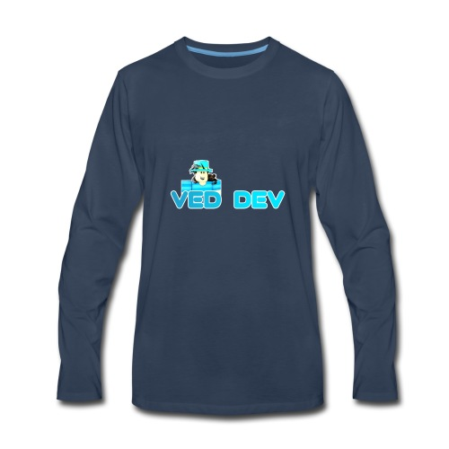 Official Ved Dev - Men's Premium Long Sleeve T-Shirt