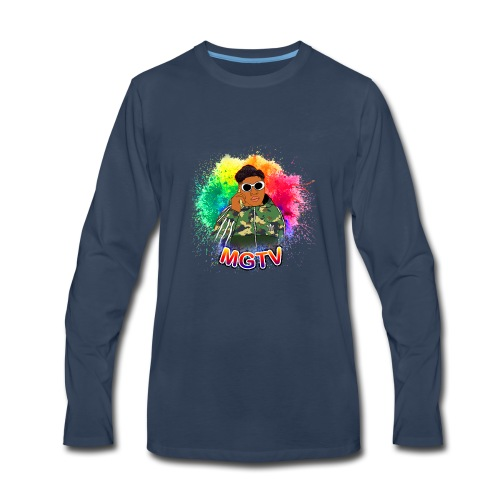 NEW MGTV Clout Shirts - Men's Premium Long Sleeve T-Shirt