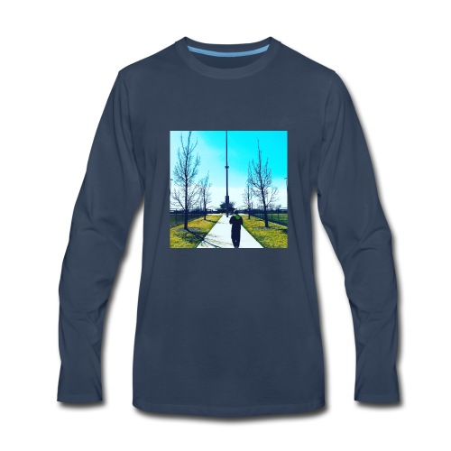Plug walk chory records - Men's Premium Long Sleeve T-Shirt