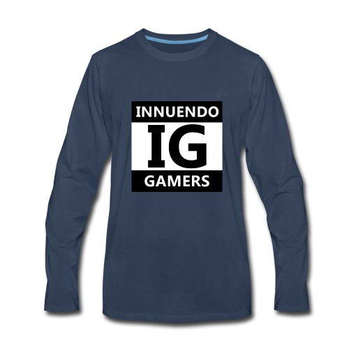 Innuendo Gamers - Men's Premium Long Sleeve T-Shirt