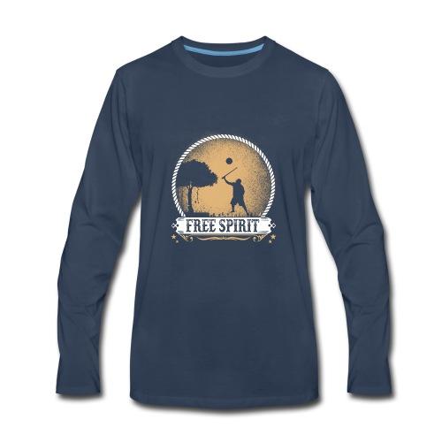 Free_spirit - Men's Premium Long Sleeve T-Shirt