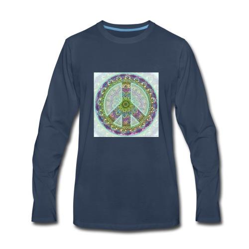 peace sign - Men's Premium Long Sleeve T-Shirt