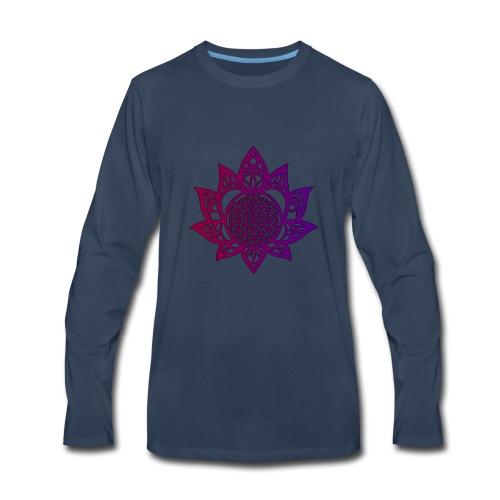 Flower of life beautiful - Men's Premium Long Sleeve T-Shirt