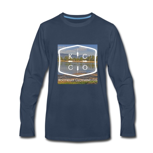 Kootenay Clothing Co Logo Wear - Men's Premium Long Sleeve T-Shirt