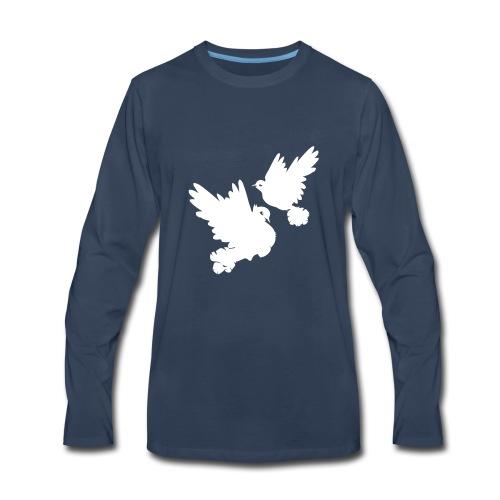 Pigeons and doves - Men's Premium Long Sleeve T-Shirt