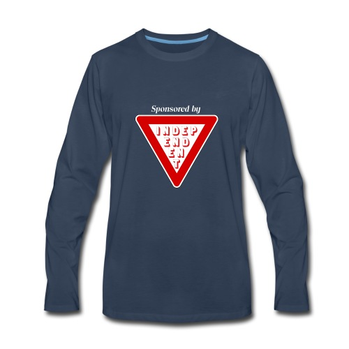 Sponsored by independent - Men's Premium Long Sleeve T-Shirt