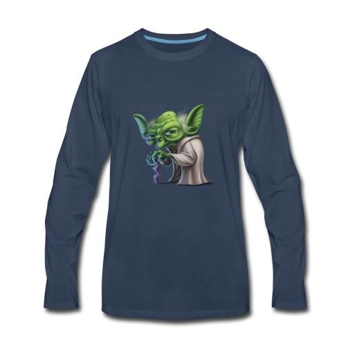 Master Yoda - Men's Premium Long Sleeve T-Shirt
