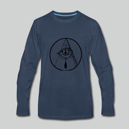 occult eye - Men's Premium Long Sleeve T-Shirt