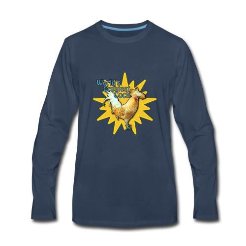 World's Greatest Cock Shirt - Men's Premium Long Sleeve T-Shirt