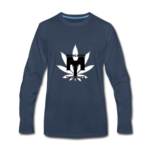 MEDICATED THOUGHTS - Men's Premium Long Sleeve T-Shirt