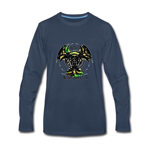 Green n Black logo - Men's Premium Long Sleeve T-Shirt