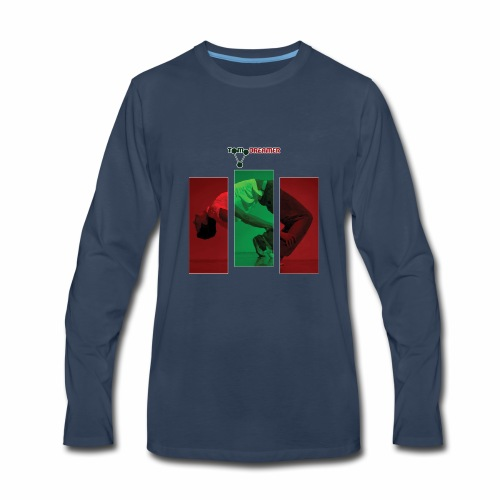 Face reality and bend. - Men's Premium Long Sleeve T-Shirt