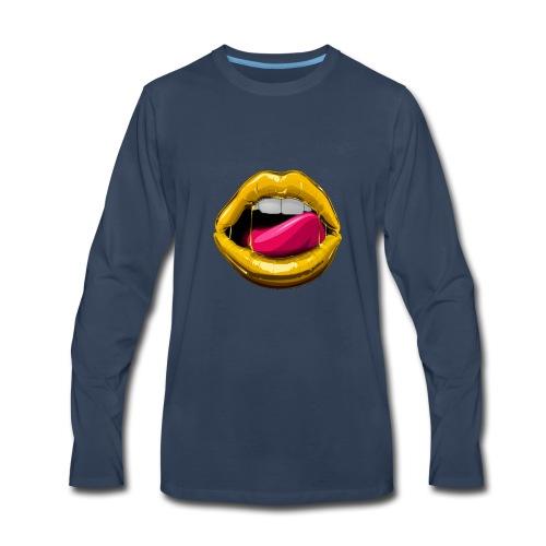 GOOD LIPZ - Men's Premium Long Sleeve T-Shirt