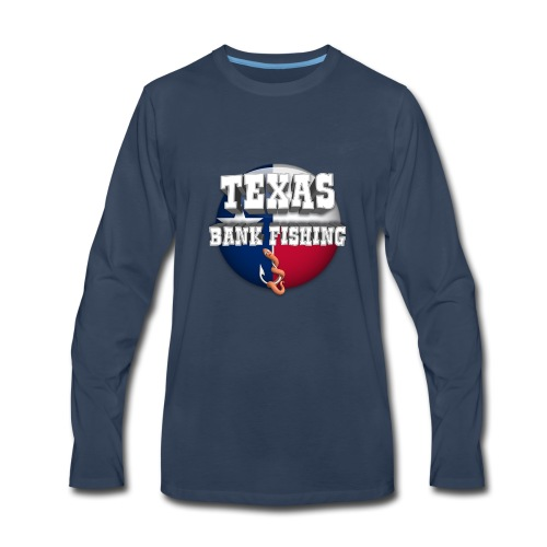 Texas Bank Fishing - Men's Premium Long Sleeve T-Shirt