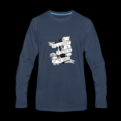 DOGS - Men's Premium Long Sleeve T-Shirt