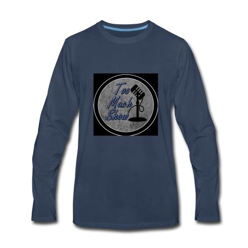 TMS Logo - Men's Premium Long Sleeve T-Shirt