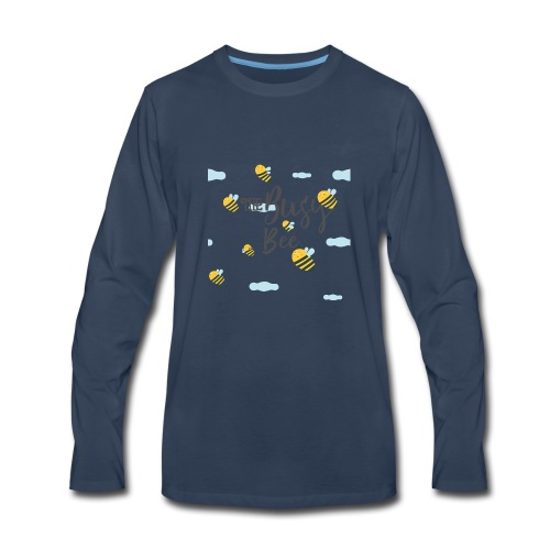 busy bee - Men's Premium Long Sleeve T-Shirt