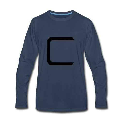 Cyberonic Logo Black - Men's Premium Long Sleeve T-Shirt
