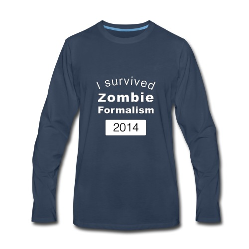 Zombie Formalism 2014 - Men's Premium Long Sleeve T-Shirt