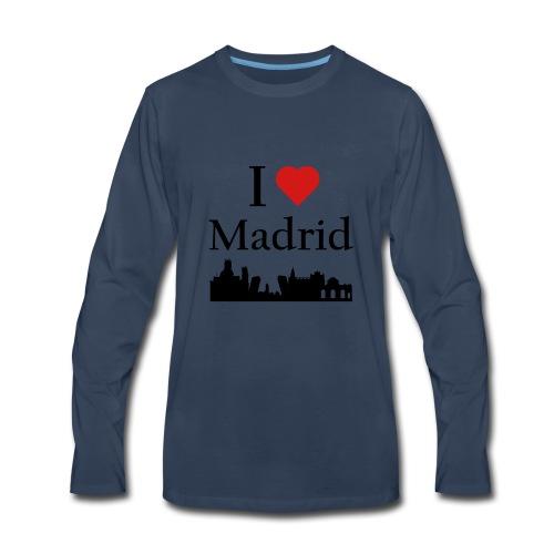 I Love Madrid - Men's Premium Long Sleeve T-Shirt